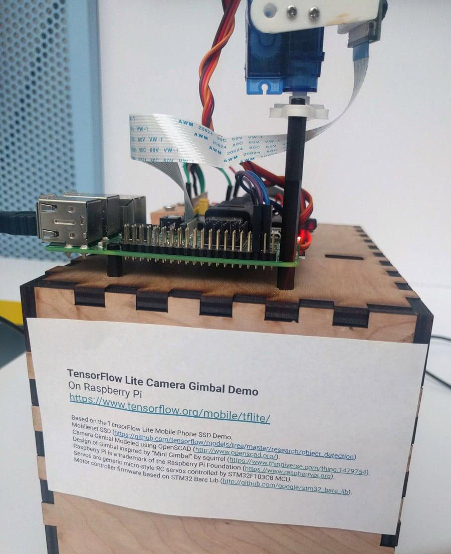tensorflow gimbal demo
