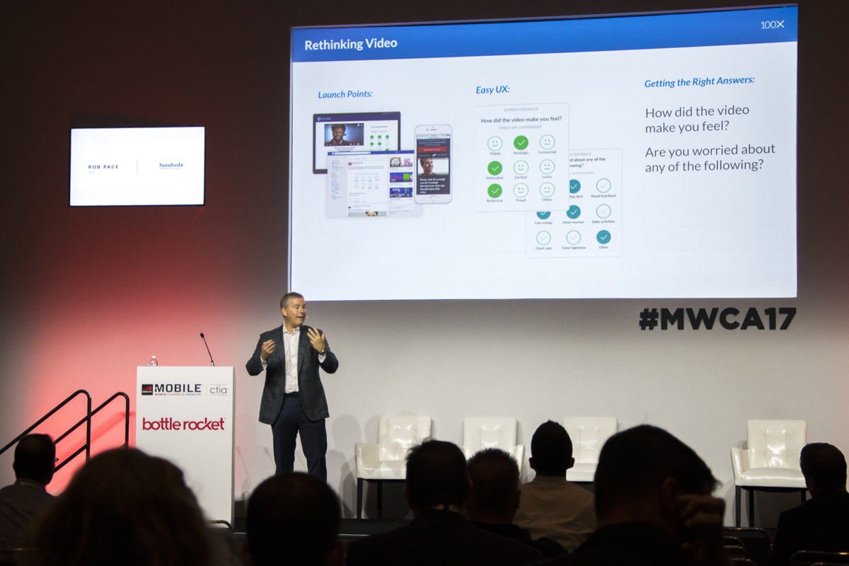 Rob Pace, CEO of HundredX at MWCA