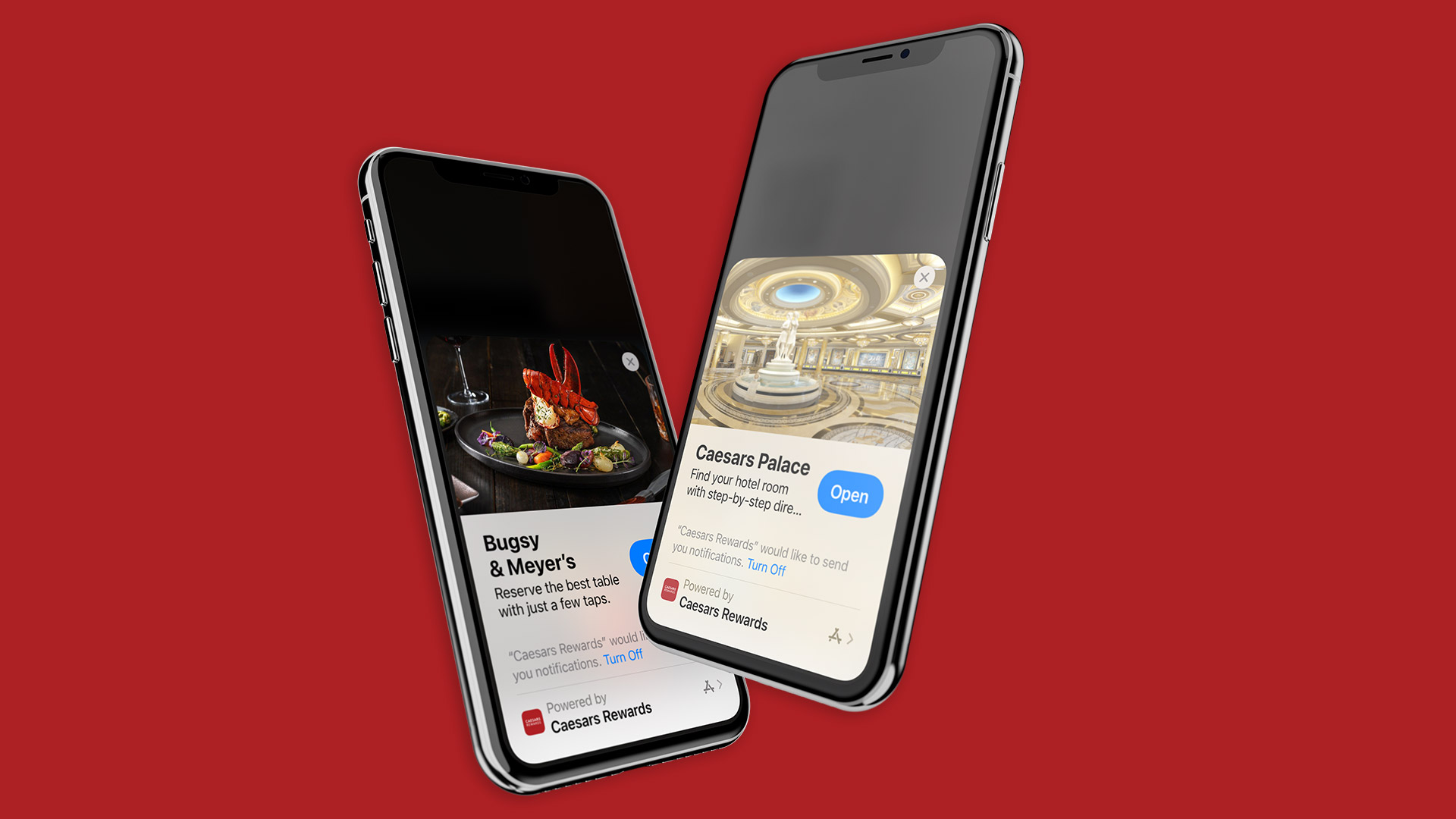 Developed by Bottle Rocket with Notifications by Airship, Caesars Entertainment Unveils Enhancements to its Guest Experience with its First Ever Apple App Clip