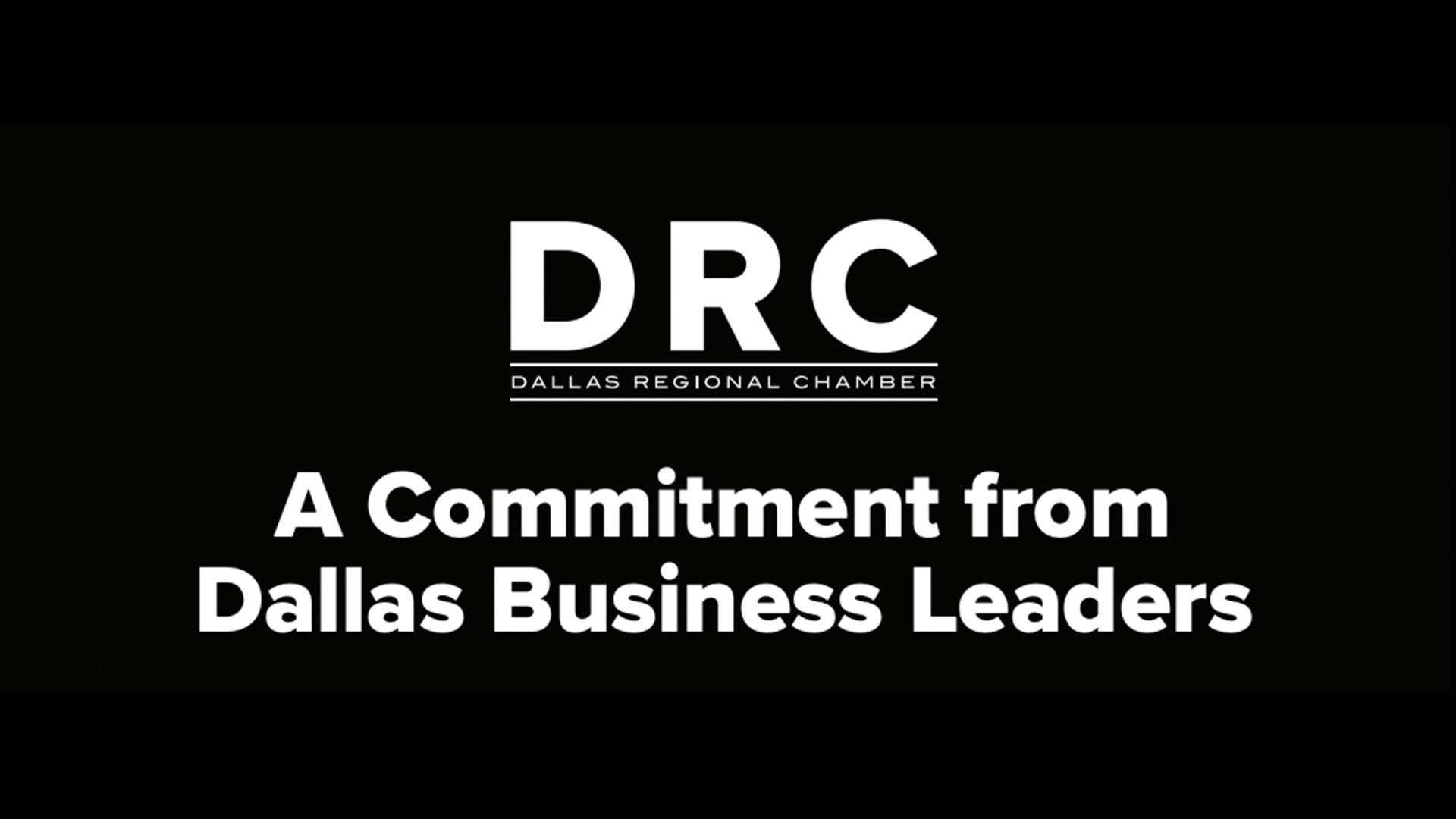 Bottle Rocket Joins The Dallas Regional Chamber in Committing to Leading Change in Dallas